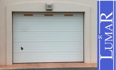 puertas seccionales automaticas para nave industrial